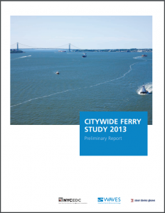 Citywide Ferry Cover