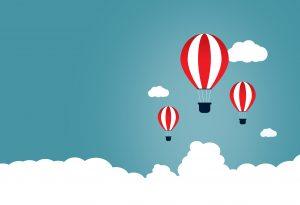 Imagem Grátis | Conceito de Start-Up com Balões
