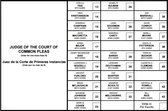 2017 Sample Ballot