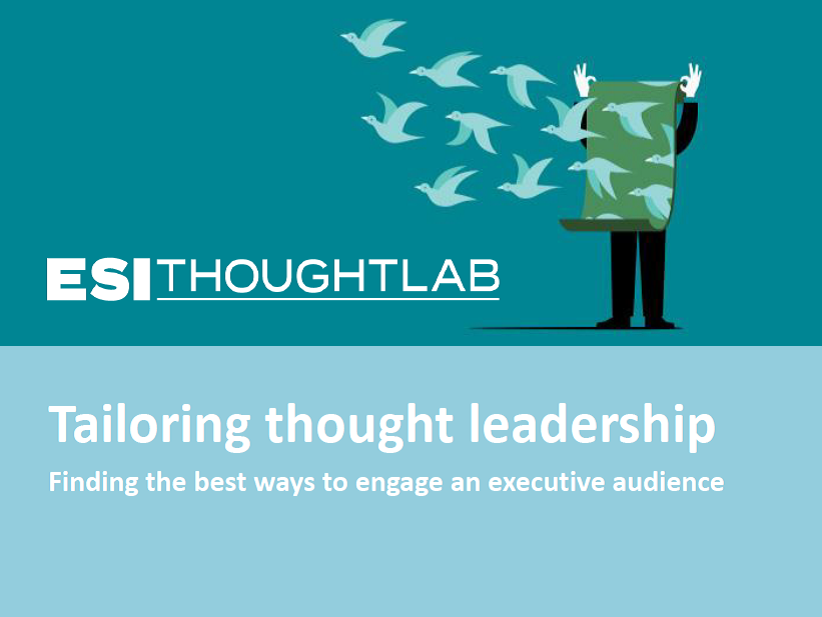 Tailoring Thought Leadership