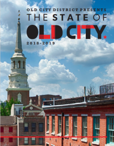 Old City District Annual Report 2018 Cover
