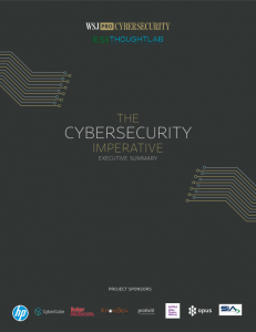 WSJ Executive Summary Cover_Cyber Imperative 2018