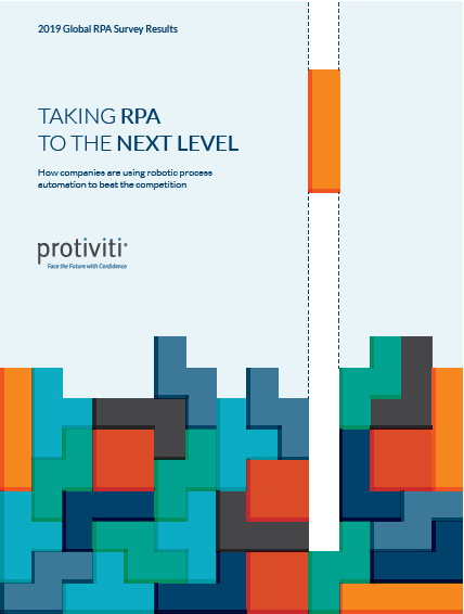 2019 Global RPA Survey Results Cover