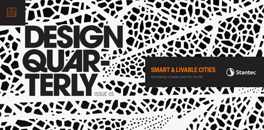 Stantec Design Quarterly Issue 05 Cover