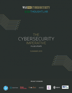 WSJ Pulse Survey Cover_Cybersecurity Imperative