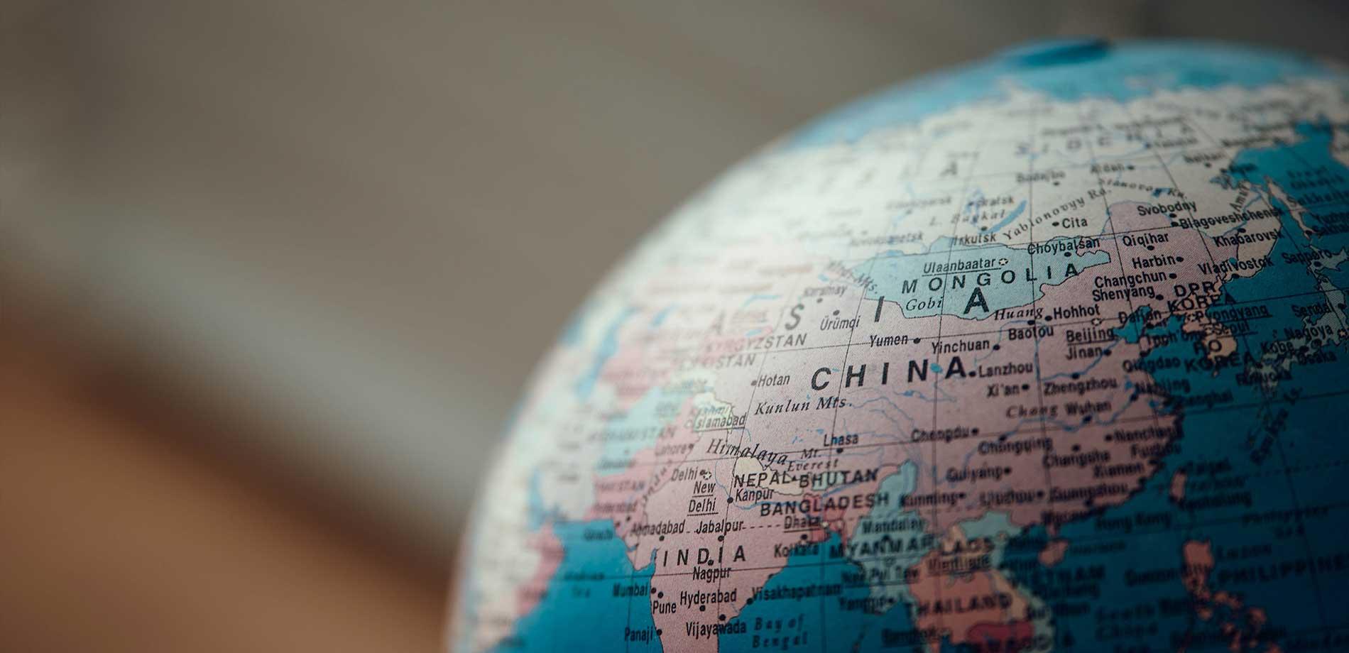 China---Globe