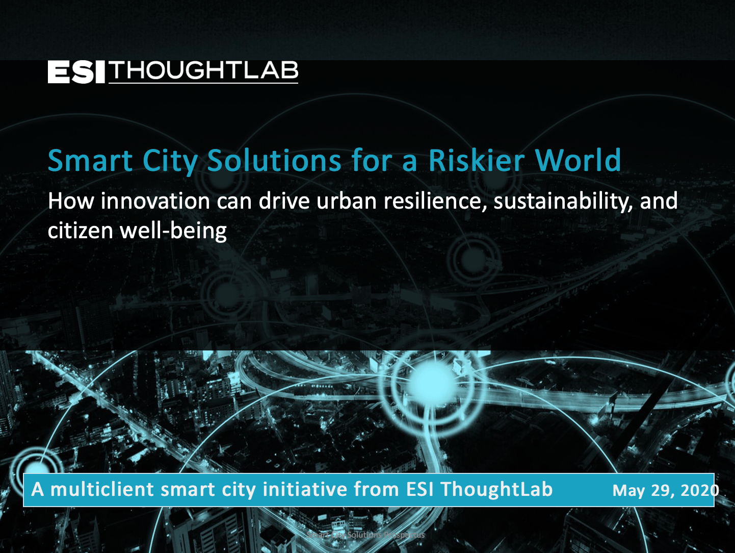 Prospectus_Smart City Solutions for a Riskier World