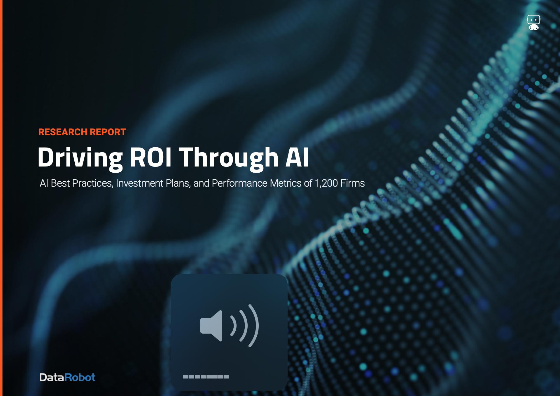 ROI Through AI DataRobot
