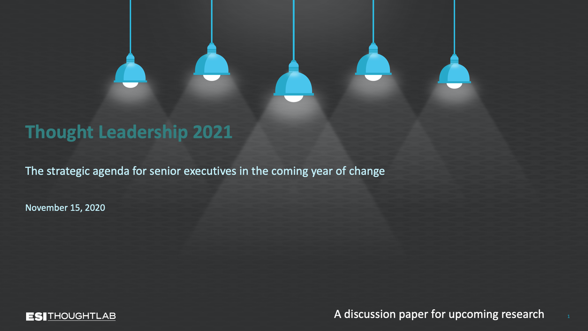 Thought Leadership 2021