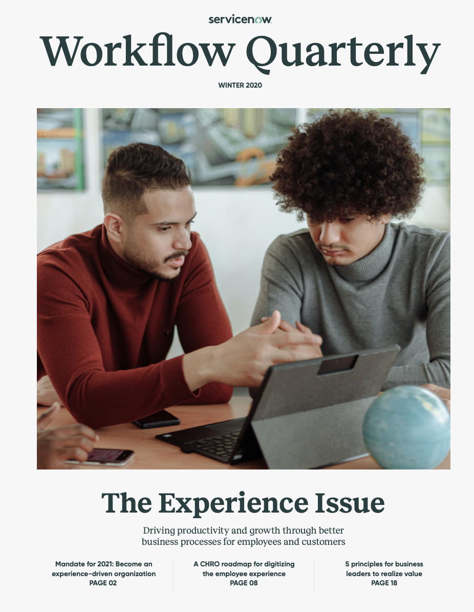 Workflow Quarterly Experience Issue