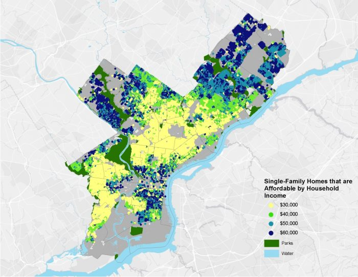 Mapping The Affordability In Philadelphia Econsult Solutions Inc - Philadelphia-on-the-us-map