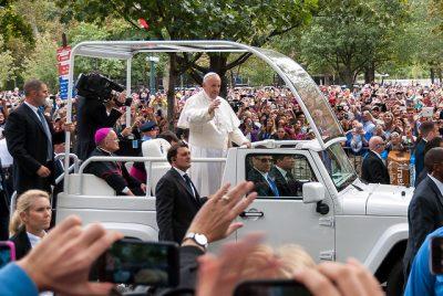 Pope Visits Philadelphia