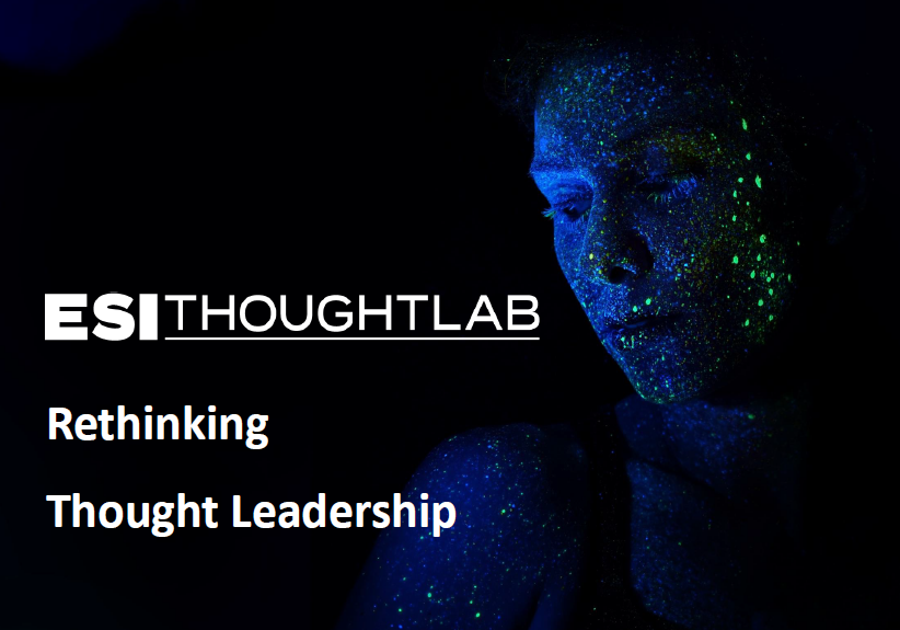 Rethinking Thought Leadership cover